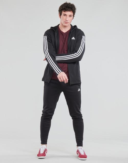 Υφασμάτινα Άνδρας Σετ από φόρμες adidas Performance M Rib Tracksuit Black