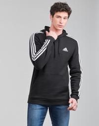Υφασμάτινα Άνδρας Φούτερ adidas Performance M 3S FL HD Black