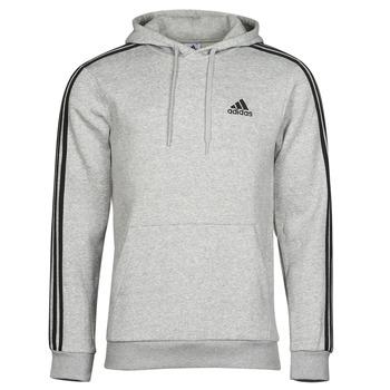Υφασμάτινα Άνδρας Φούτερ adidas Performance M 3S FL HD Grey