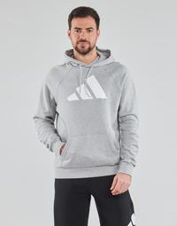 Υφασμάτινα Άνδρας Φούτερ adidas Performance M FI Hood Grey