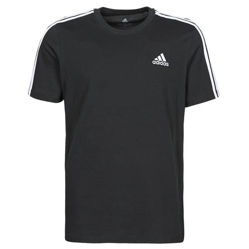 Υφασμάτινα Άνδρας T-shirt με κοντά μανίκια adidas Performance M 3S SJ T Black