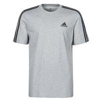 Υφασμάτινα Άνδρας T-shirt με κοντά μανίκια adidas Performance M 3S SJ T Grey