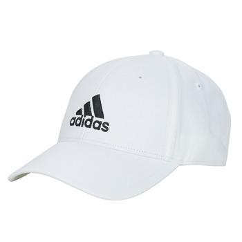 Αξεσουάρ Κασκέτα adidas Performance BBALL CAP COT Άσπρο