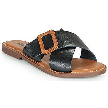 Παπούτσια Γυναίκα Τσόκαρα Refresh TRAFFA Black