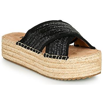 Παπούτσια Γυναίκα Τσόκαρα Refresh TERRA Black