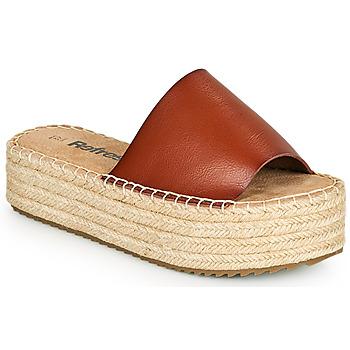 Παπούτσια Γυναίκα Τσόκαρα Refresh ETINNA Camel