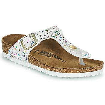 Παπούτσια Κορίτσι Σαγιονάρες Birkenstock GIZEH Άσπρο