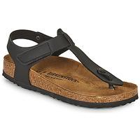 Παπούτσια Παιδί Σαγιονάρες Birkenstock KAIRO HL Black