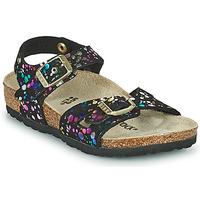 Παπούτσια Κορίτσι Σανδάλια / Πέδιλα Birkenstock RIO Black / Multicolour