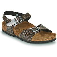 Παπούτσια Κορίτσι Σανδάλια / Πέδιλα Birkenstock RIO Black / Gold