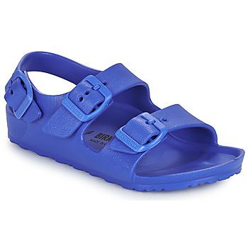 Παπούτσια Αγόρι Σανδάλια / Πέδιλα Birkenstock MILANO EVA Μπλέ