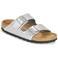Παπούτσια Γυναίκα Τσόκαρα Birkenstock ARIZONA Silver
