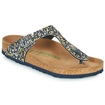 Παπούτσια Γυναίκα Σαγιονάρες Birkenstock GIZEH Μπλέ