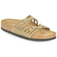 Παπούτσια Γυναίκα Τσόκαρα Birkenstock GRANADA SFB Kaki
