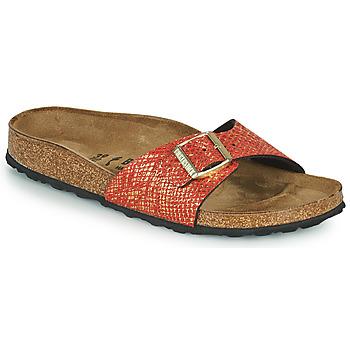 Παπούτσια Γυναίκα Τσόκαρα Birkenstock MADRID Red / Gold