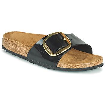 Παπούτσια Γυναίκα Τσόκαρα Birkenstock MADRID BIG BUCKLE Black