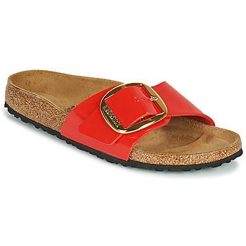 Παπούτσια Γυναίκα Τσόκαρα Birkenstock MADRID BIG BUCKLE Red