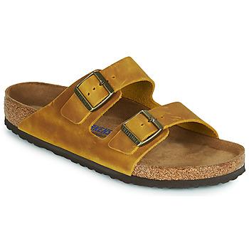 Παπούτσια Άνδρας Τσόκαρα Birkenstock ARIZONA SFB Yellow