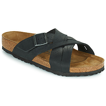 Παπούτσια Άνδρας Τσόκαρα Birkenstock LUGANO Black