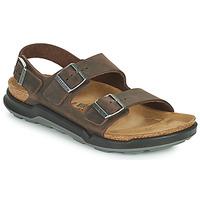 Παπούτσια Άνδρας Σανδάλια / Πέδιλα Birkenstock MILANO CT Brown