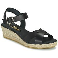 Παπούτσια Γυναίκα Σανδάλια / Πέδιλα Betty London GIORGIA Black
