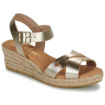 Παπούτσια Γυναίκα Σανδάλια / Πέδιλα Betty London GIORGIA Gold