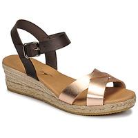 Παπούτσια Γυναίκα Σανδάλια / Πέδιλα Betty London GIORGIA Brown / Nude