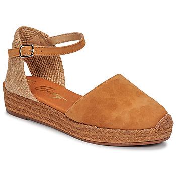 Παπούτσια Γυναίκα Σανδάλια / Πέδιλα Betty London ANTALA Cognac