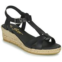 Παπούτσια Γυναίκα Σανδάλια / Πέδιλα Betty London OBORSEL Black