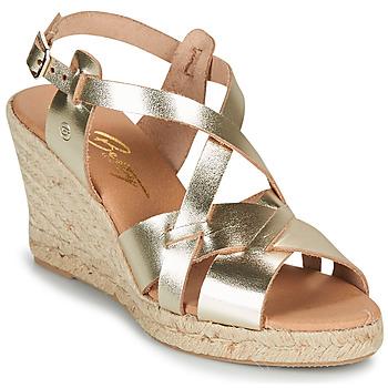 Παπούτσια Γυναίκα Σανδάλια / Πέδιλα Betty London OSAVER Gold