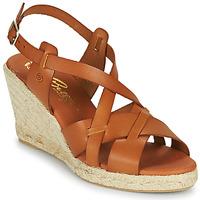 Παπούτσια Γυναίκα Σανδάλια / Πέδιλα Betty London OSAVER Camel