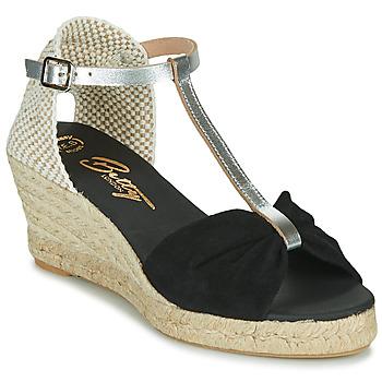 Παπούτσια Γυναίκα Σανδάλια / Πέδιλα Betty London OREINOA Black