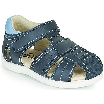 Παπούτσια Αγόρι Σανδάλια / Πέδιλα Citrouille et Compagnie OLISS Μπλέ