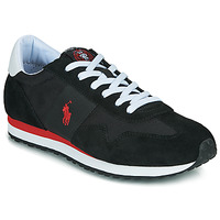 Παπούτσια Άνδρας Χαμηλά Sneakers Polo Ralph Lauren TRAIN 85-SNEAKERS-ATHLETIC SHOE Black / Red