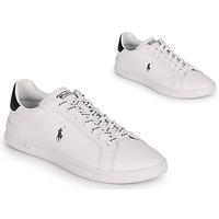 Παπούτσια Άνδρας Χαμηλά Sneakers Polo Ralph Lauren HRT CT II-SNEAKERS-ATHLETIC SHOE Άσπρο / Black