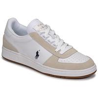 Παπούτσια Άνδρας Χαμηλά Sneakers Polo Ralph Lauren POLO CRT PP-SNEAKERS-ATHLETIC SHOE Άσπρο