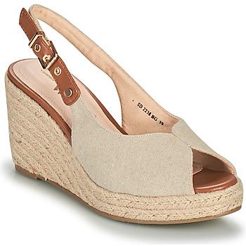 Παπούτσια Γυναίκα Σανδάλια / Πέδιλα Vanessa Wu SD2238BG Beige / Brown