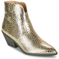 Παπούτσια Γυναίκα Μποτίνια Vanessa Wu MINNA Gold