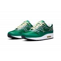 Παπούτσια Χαμηλά Sneakers Nike Air Max 1 Powerwall Limonade PINE GREENPINE GREEN-TRUE WHITE