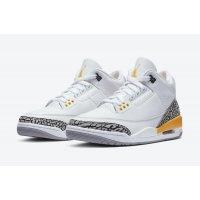 Παπούτσια Ψηλά Sneakers Nike Air Jordan 3 Laser Orange White/Laser Orange-Cement Grey-Black