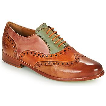 Παπούτσια Γυναίκα Derby Melvin & Hamilton SELINA 24 Brown