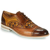Παπούτσια Άνδρας Derby Melvin & Hamilton HENRY 7 Brown