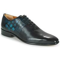 Παπούτσια Άνδρας Richelieu Melvin & Hamilton LANCE 61 Black / Μπλέ