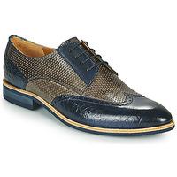 Παπούτσια Άνδρας Derby Melvin & Hamilton BOBBY 1 Grey / Μπλέ