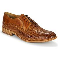 Παπούτσια Άνδρας Richelieu Melvin & Hamilton EDDY 8 Brown