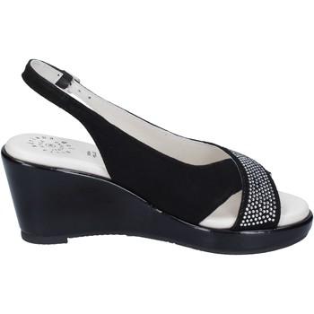 Παπούτσια Γυναίκα Σανδάλια / Πέδιλα Adriana Del Nista Σανδάλια BJ04 Μαύρος