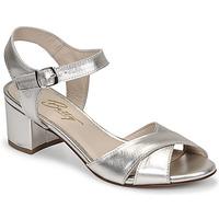 Παπούτσια Γυναίκα Σανδάλια / Πέδιλα Betty London OSKAIDI Silver