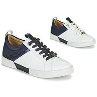 Παπούτσια Γυναίκα Χαμηλά Sneakers JB Martin GELATO Άσπρο / Marine