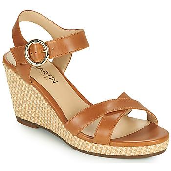 Παπούτσια Γυναίκα Σανδάλια / Πέδιλα JB Martin QUERIDA Brown