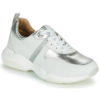 Παπούτσια Γυναίκα Χαμηλά Sneakers JB Martin WILO Άσπρο / Silver